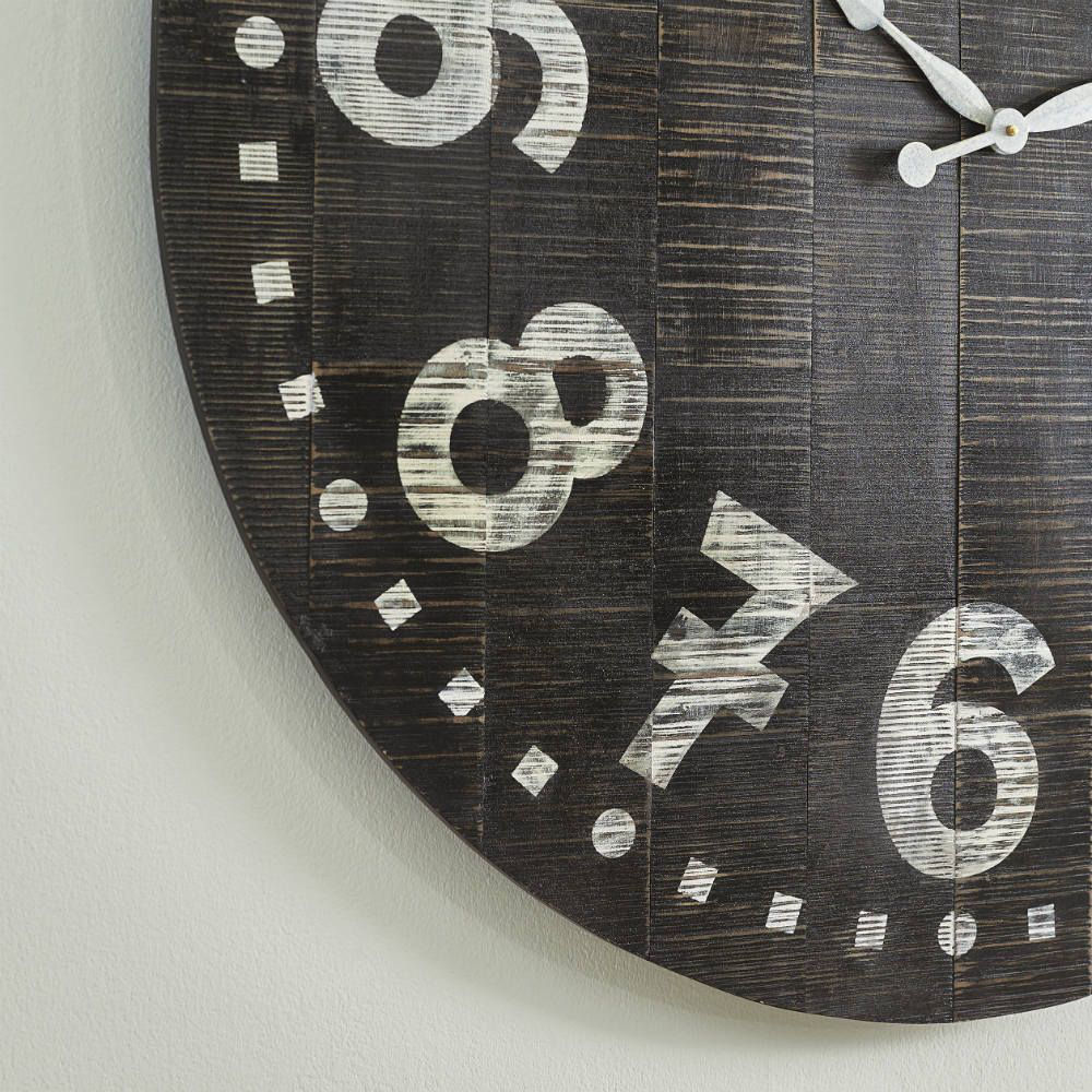 Brunelle Wall Clock - Detail