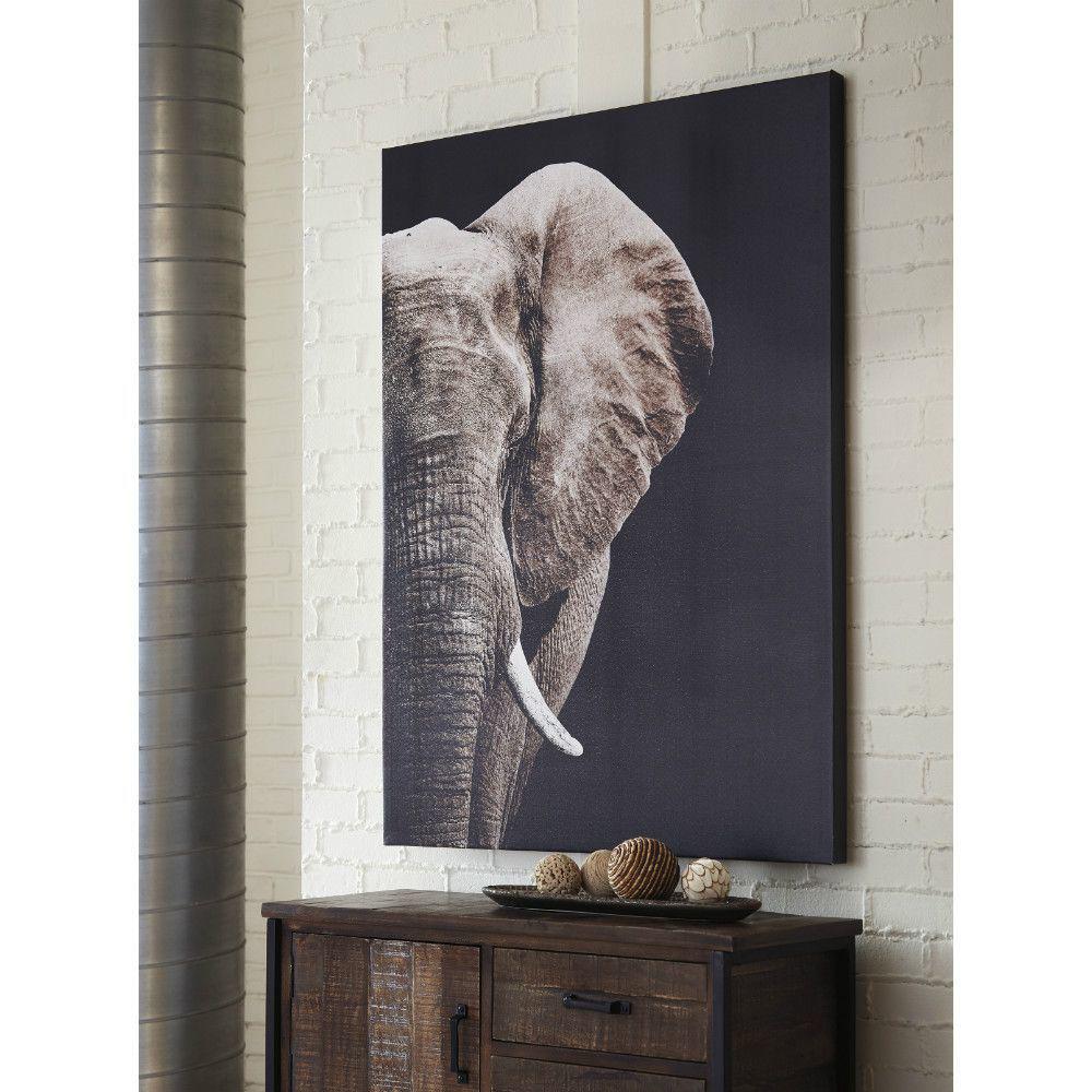 Rozie Elephant Wall Art - Lifestyle