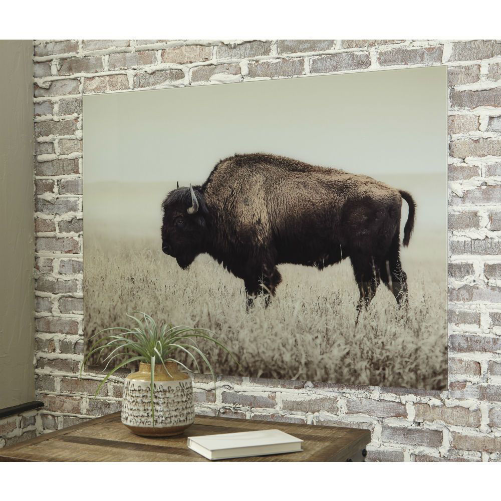 Lone Bison Wall Art - Lifestyle