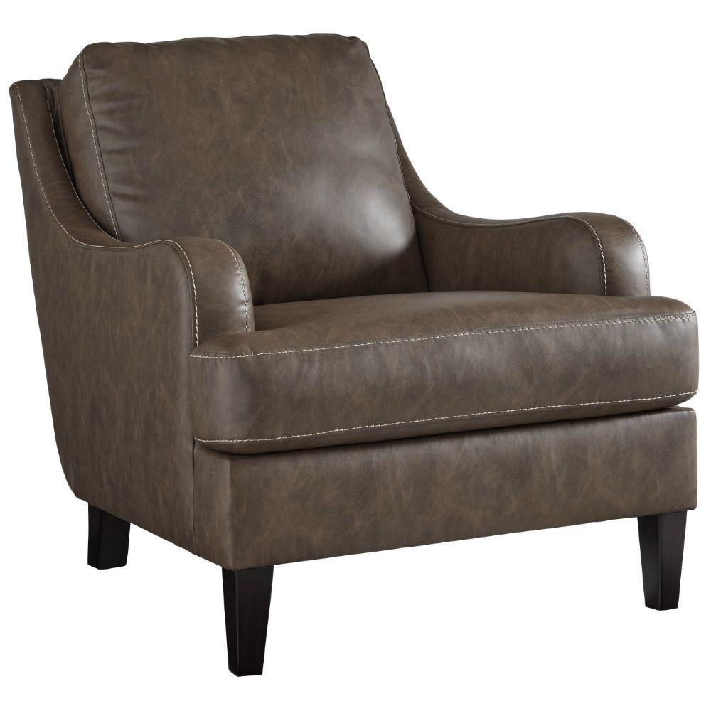 Terrelle Accent Chair - Walnut