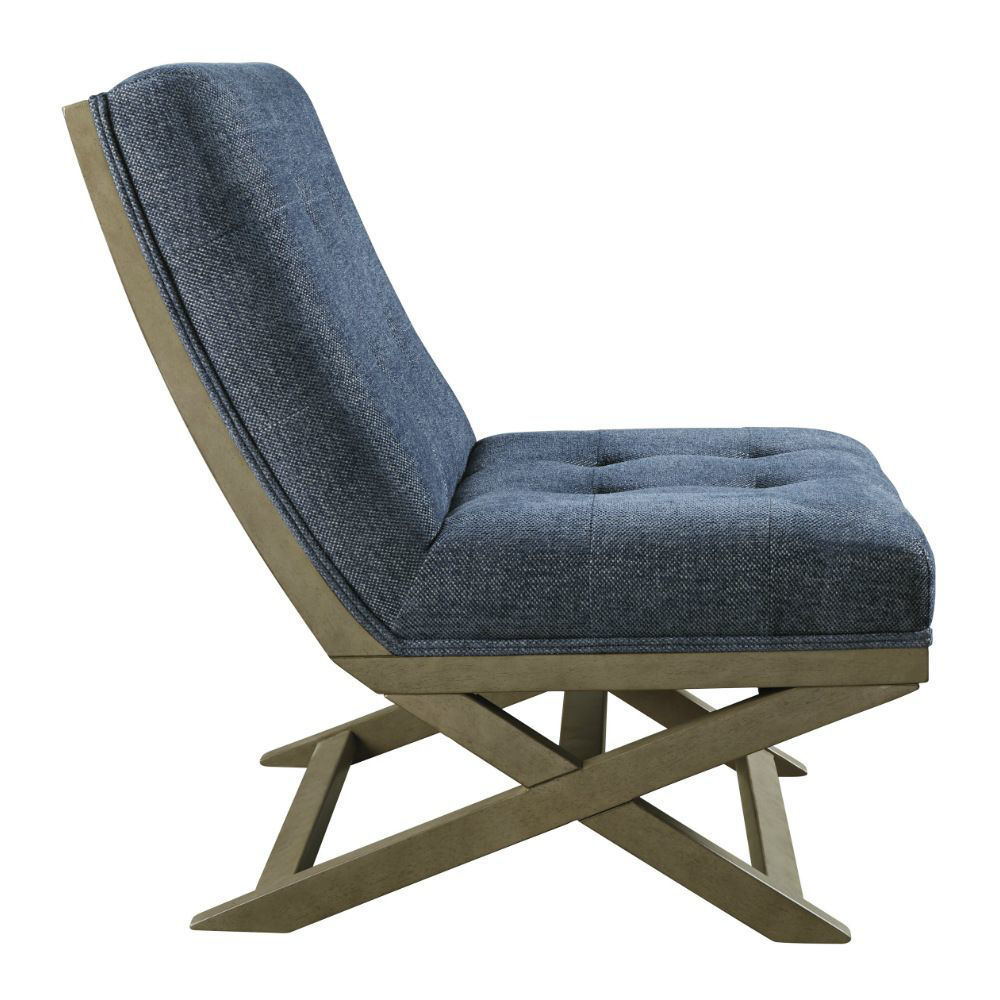 Crotalus Accent Chair - Blue - Side