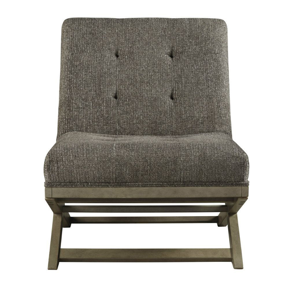 Crotalus Accent Chair - Taupe - Front