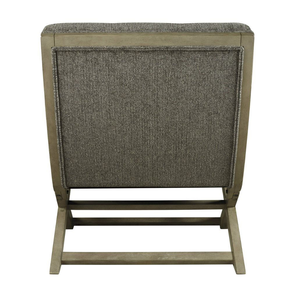 Crotalus Accent Chair - Taupe - Rear