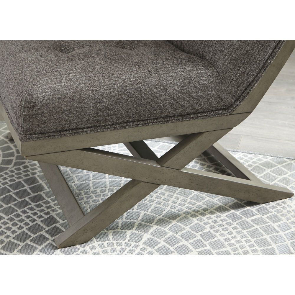 Crotalus Accent Chair - Taupe - Detail