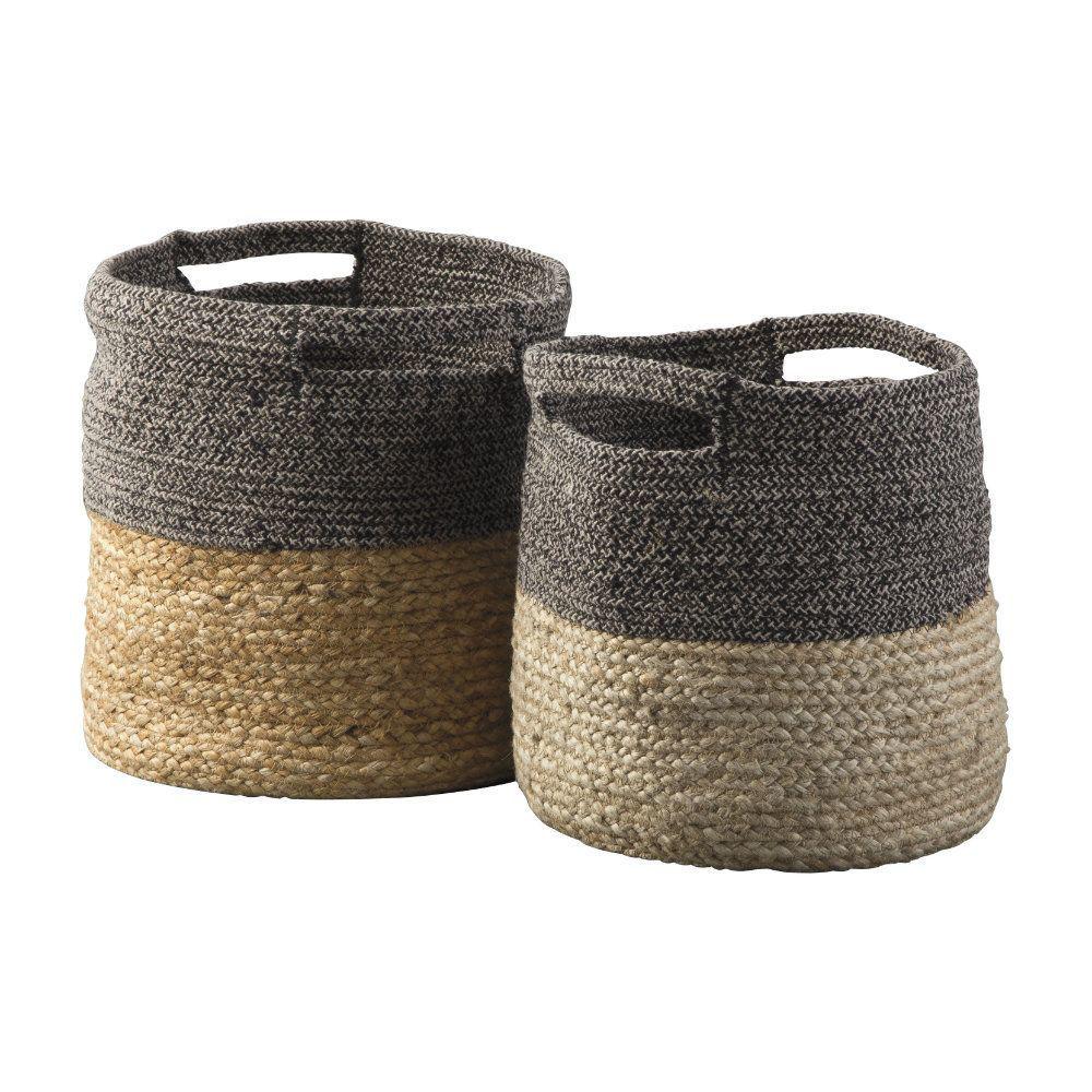Parrish Baskets - Black - Set of 2