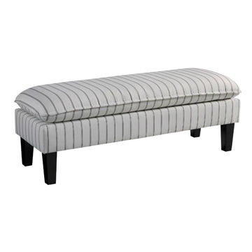 Meadow Pinstripe Accent Bench