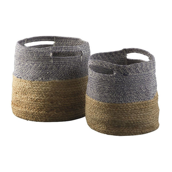 Parrish Baskets - Blue - Set of 2