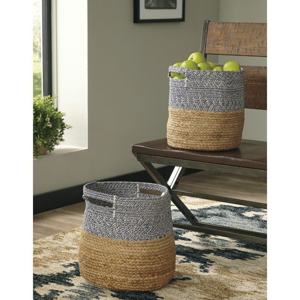 Parrish Baskets - Blue - Set of 2 - Lifestyle