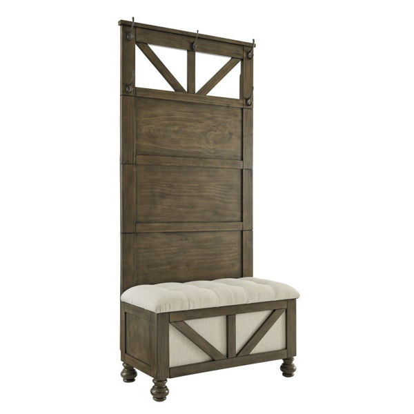 Rockwell Hall Tree with Storage Bench