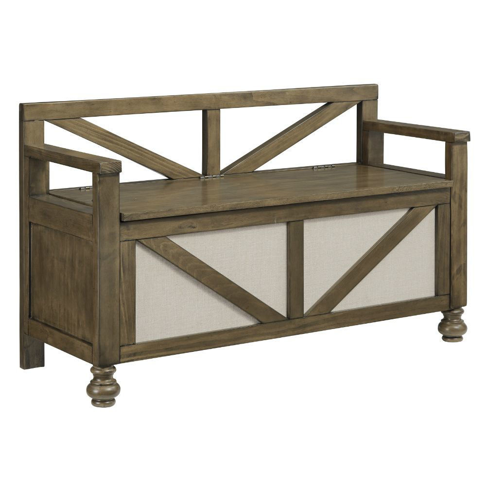 Rockwell Storage Bench
