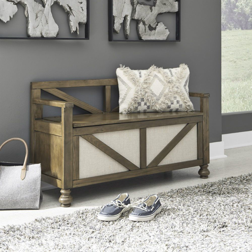 Rockwell Storage Bench - Lifestyle
