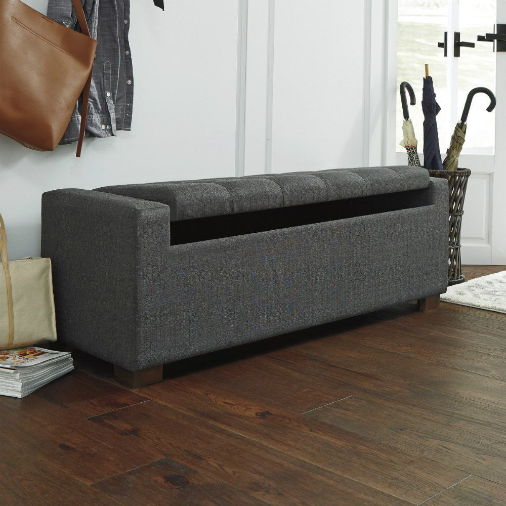 Cornell Storage Bench - Open Top