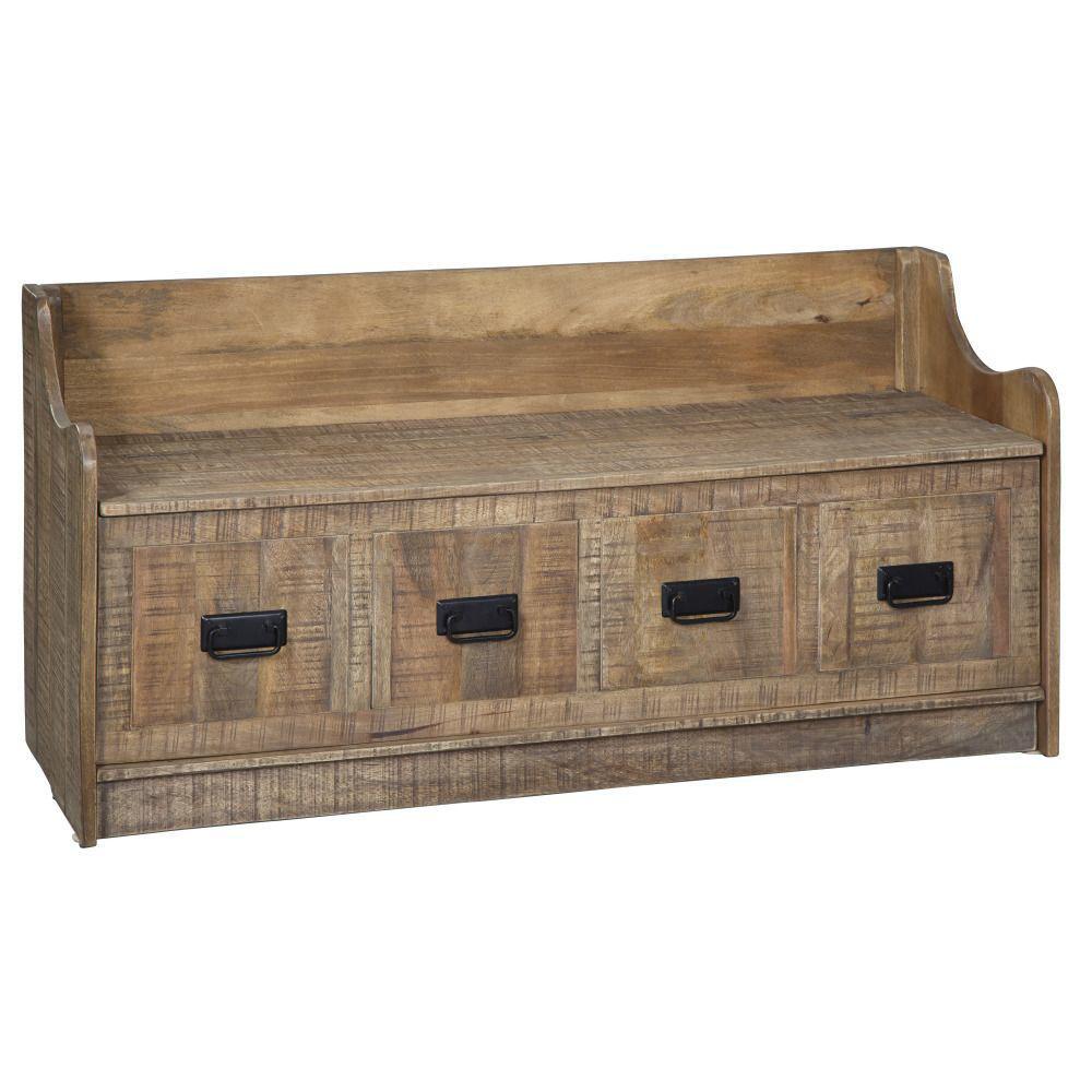 Garrett Storage Bench