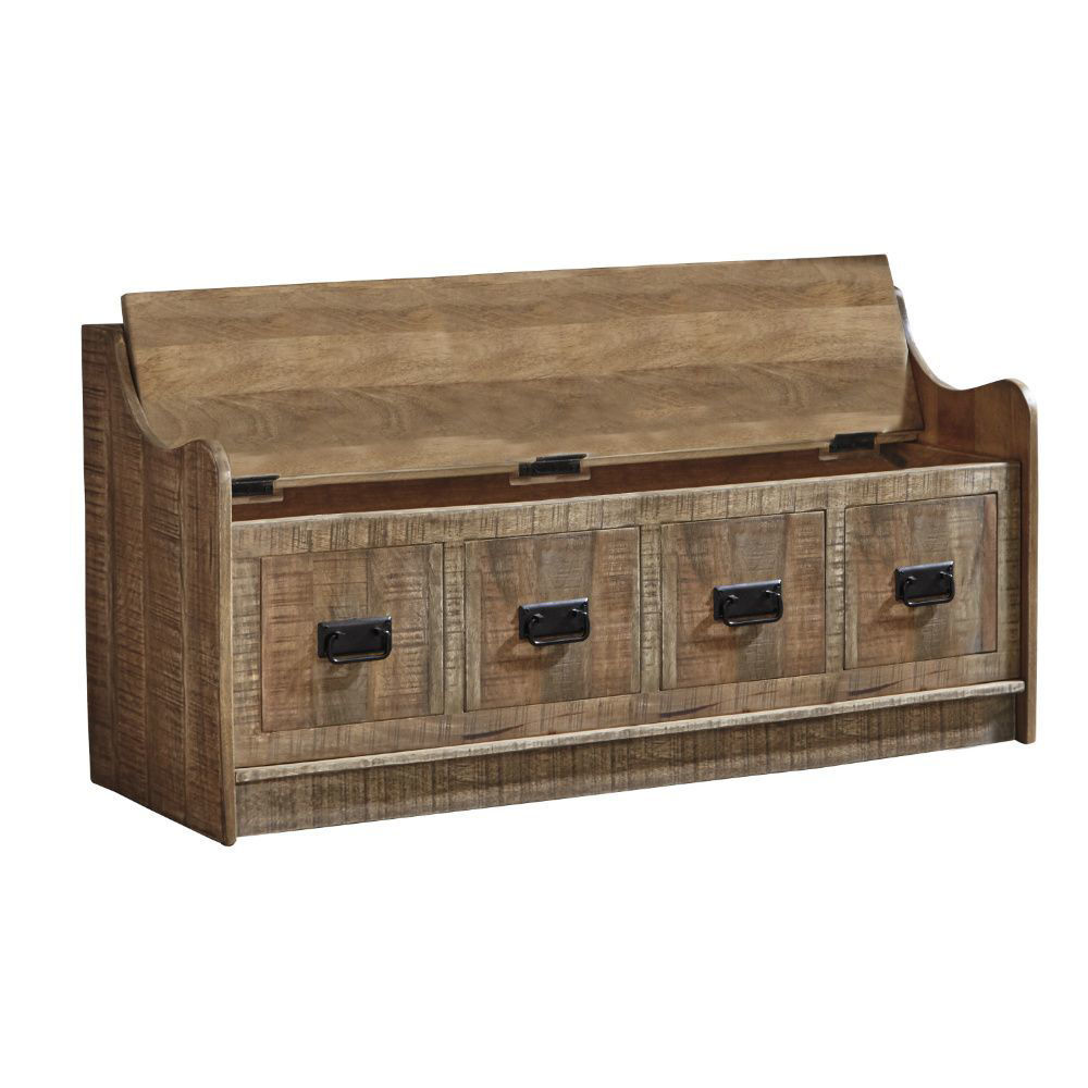 Garrett Storage Bench - Open Top
