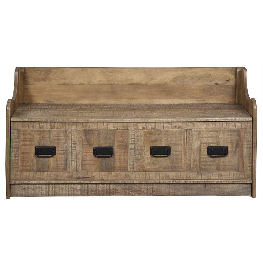 Garrett Storage Bench - Front