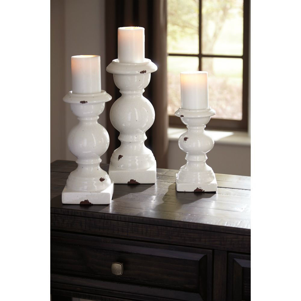 Devorah Candleholders - Set of 3 - Lifestyle