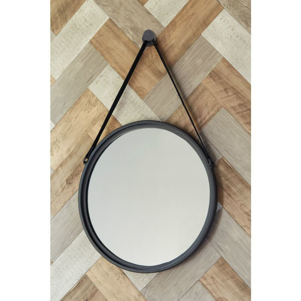 Dusan Round Accent Mirror - Lifestyle