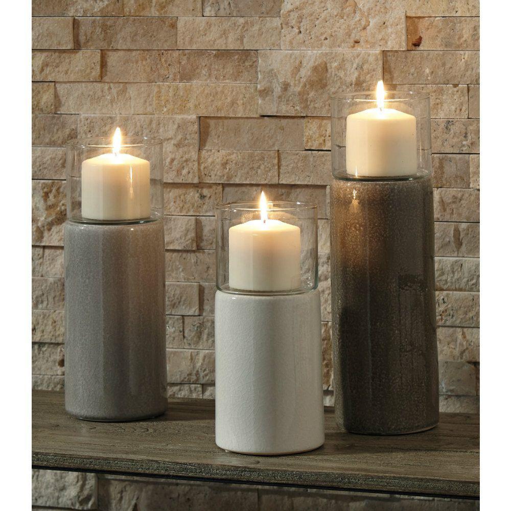 Amadeus Candle Holders - Set of 3 - Lifestyle