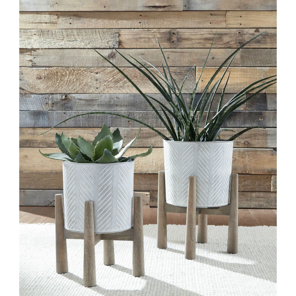 Domele Planters - Set of 2 - Lifestyle