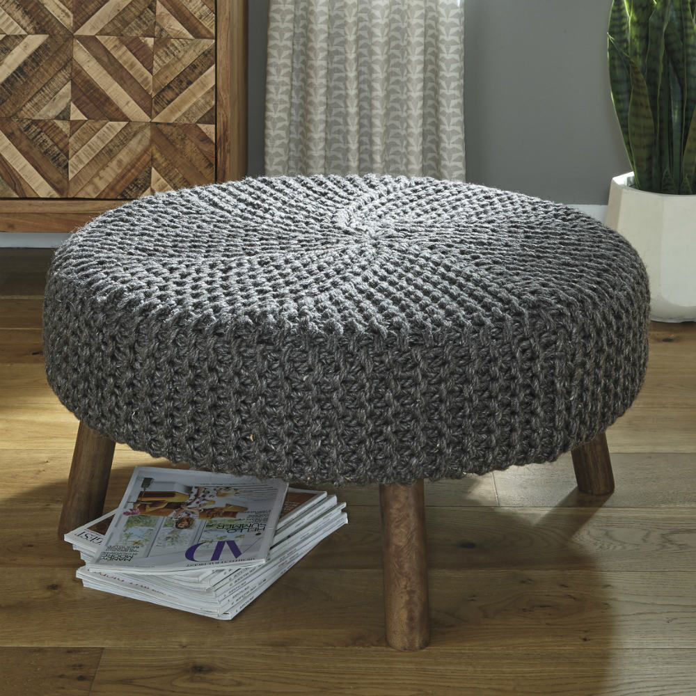 Jazz Oversized Accent Ottoman - Lifestyle
