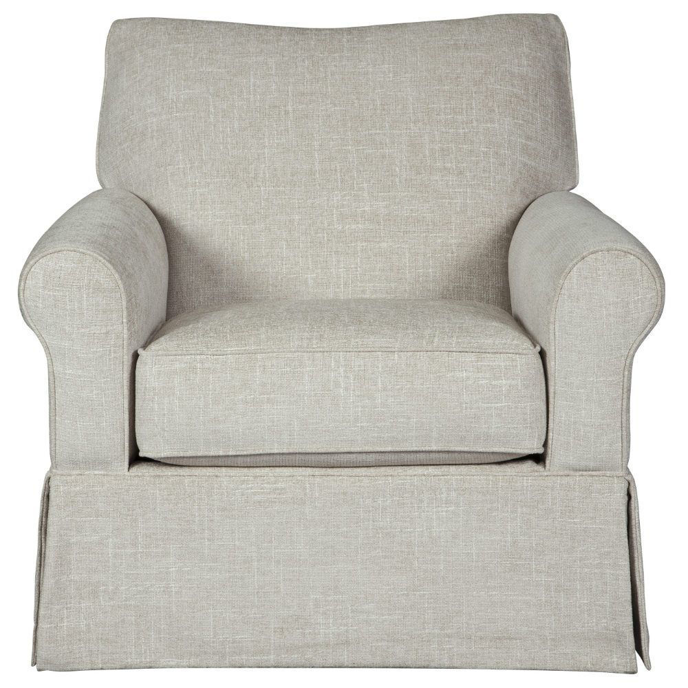 Searcy Swivel Glider Chair - Front
