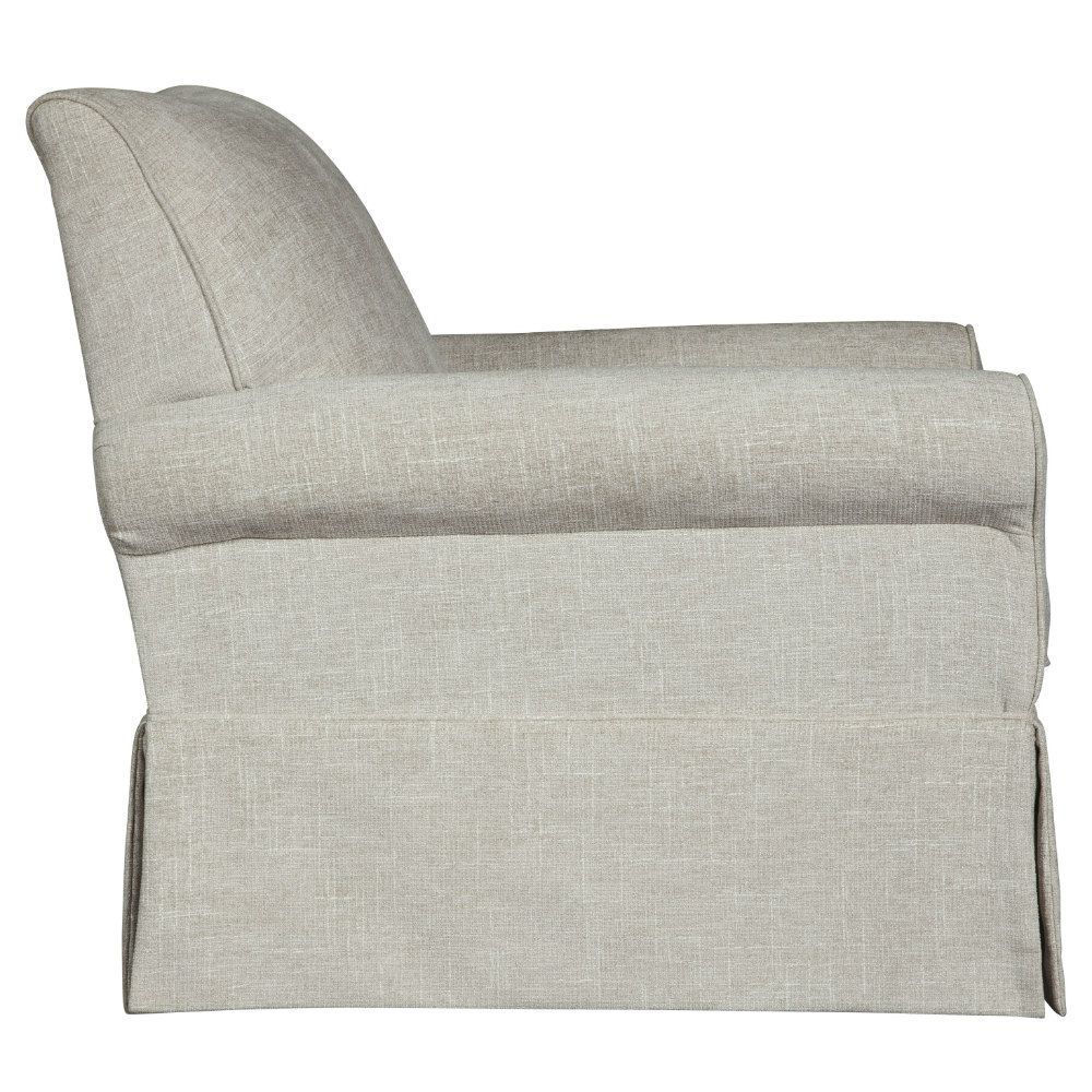 Searcy Swivel Glider Chair - Side