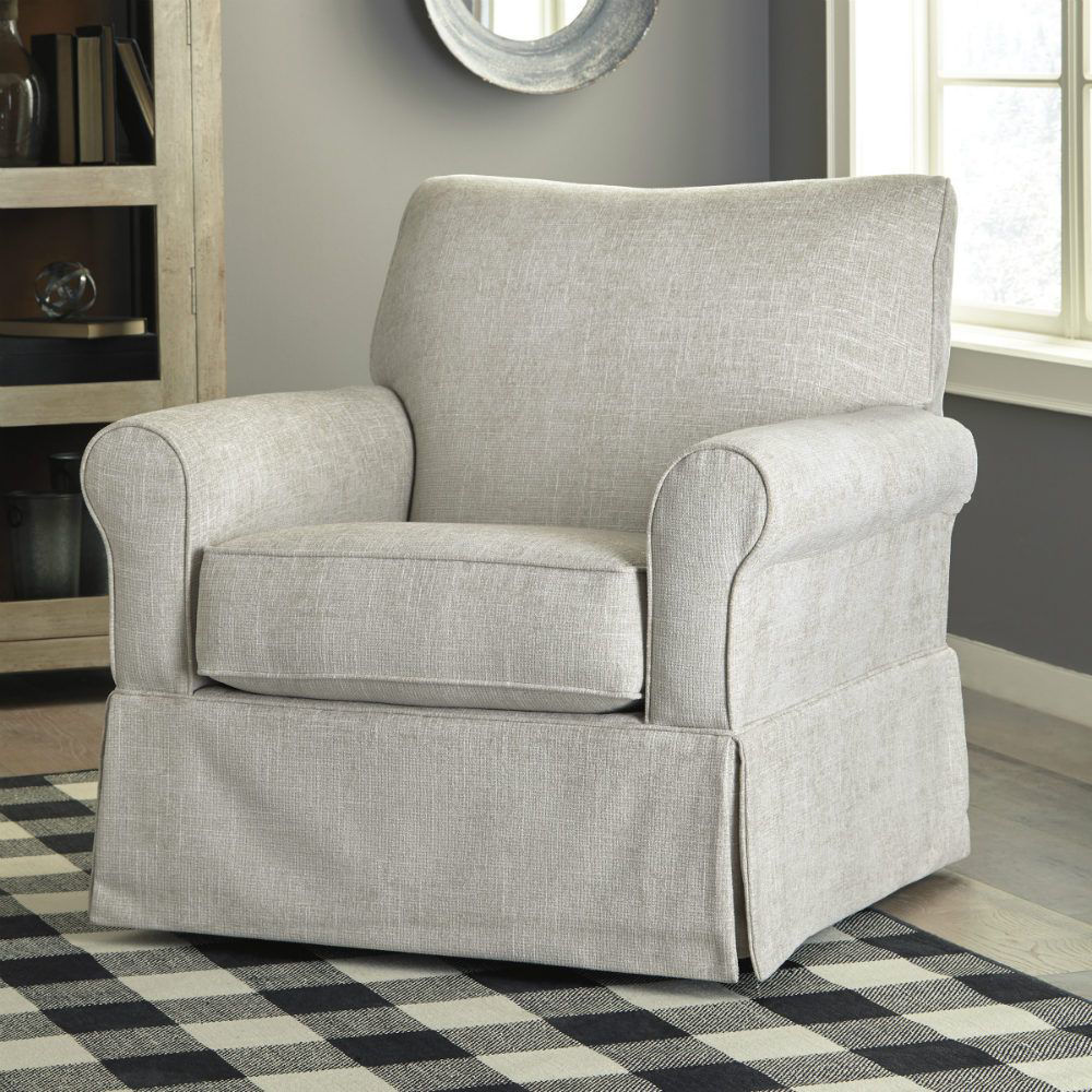 Searcy Swivel Glider Chair - Lifestyle