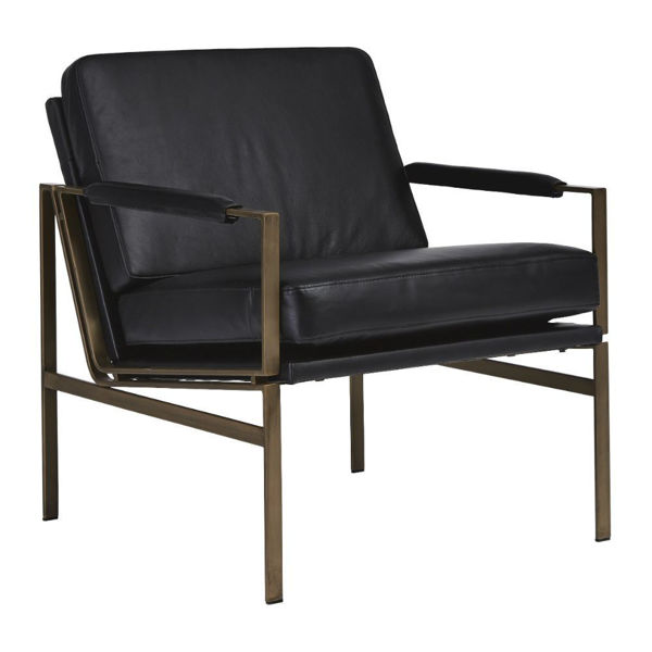 Puckman Accent Chair - Black