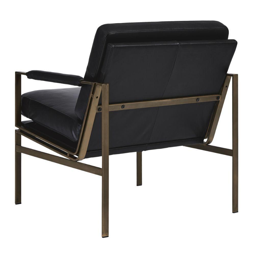 Puckman Accent Chair - Black - Rear