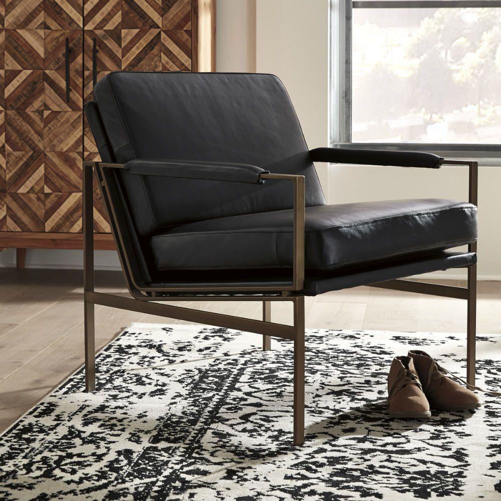 Puckman Accent Chair - Black - Lifestyle
