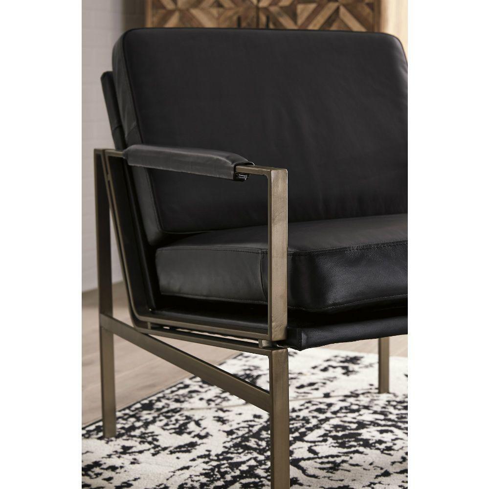 Puckman Accent Chair - Black - Detail