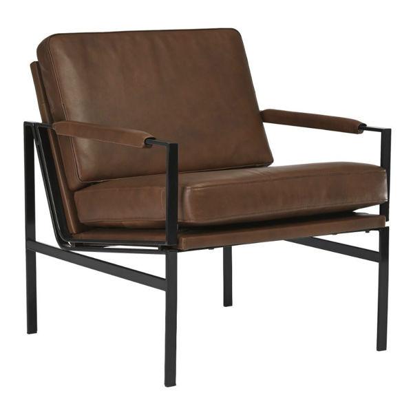 Puckman Accent Chair - Brown