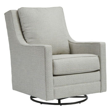 Kambria Swivel Gliding Chair - Frost