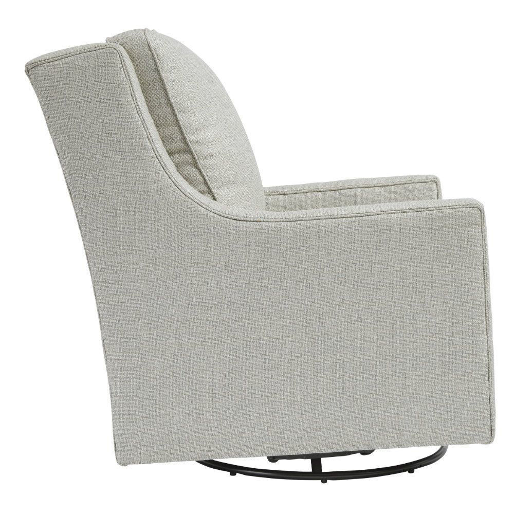 Kambria Swivel Gliding Chair - Frost - Side