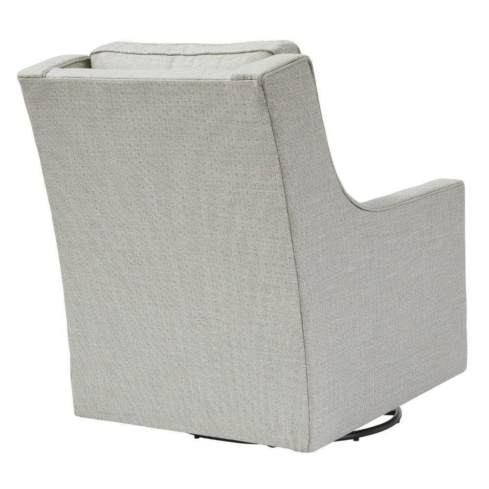 Kambria Swivel Gliding Chair - Frost - Rear