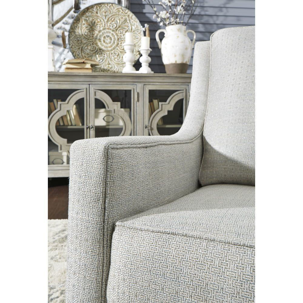 Kambria Swivel Gliding Chair - Frost - Detail
