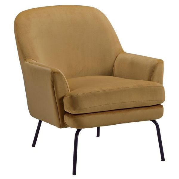 Dericka Accent Chair - Gold