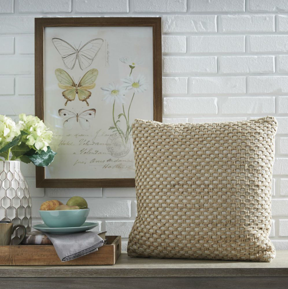 Maude Handwoven Pillow - Lifestyle
