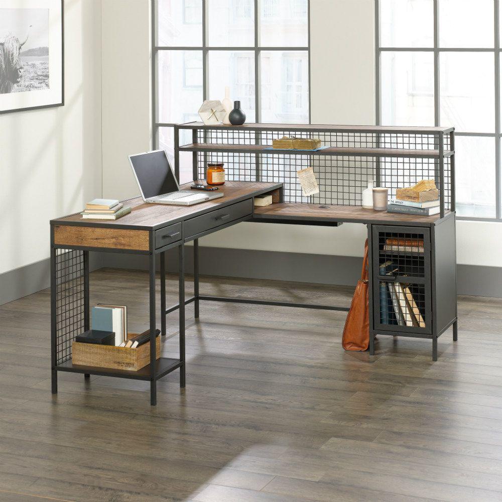 Boulevard Cafe L-Shaped Desk