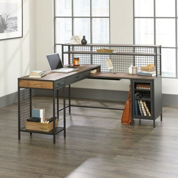 Boulevard Cafe L-Shaped Desk