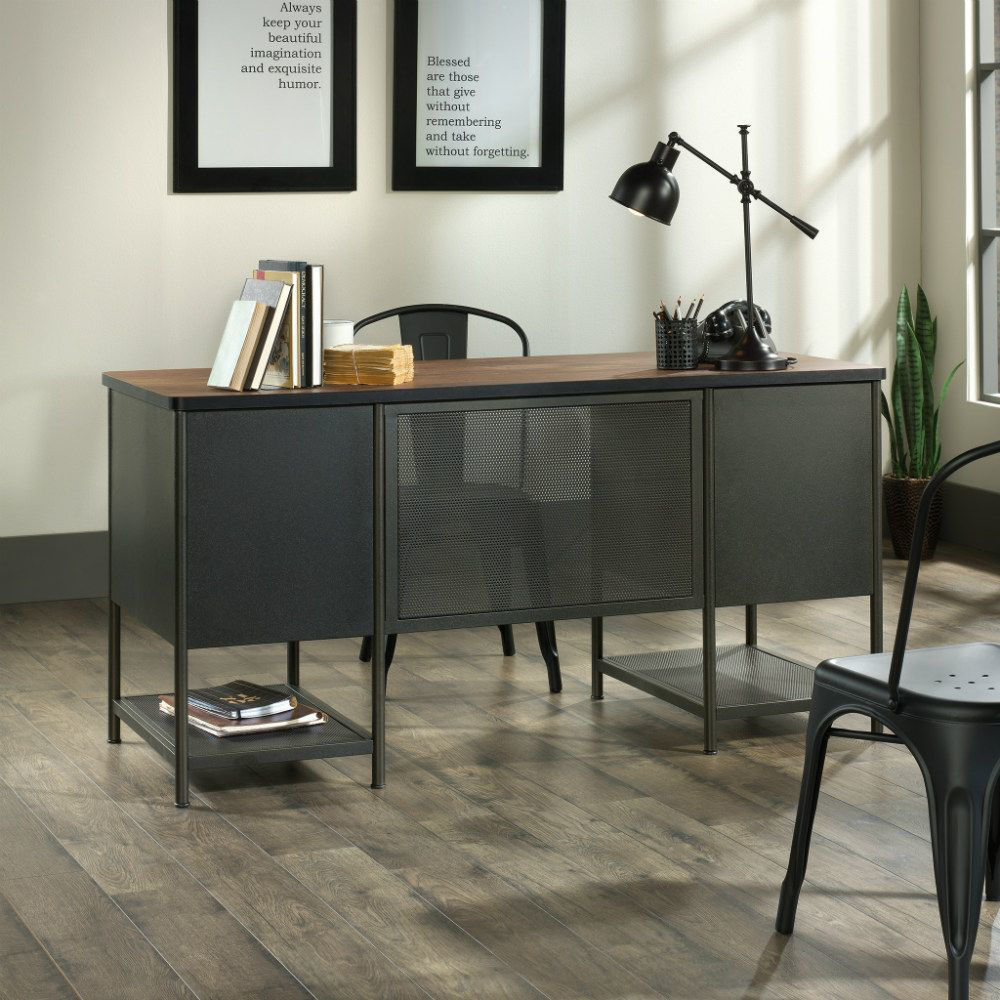 Boulevard Cafe Executive Desk - Rear