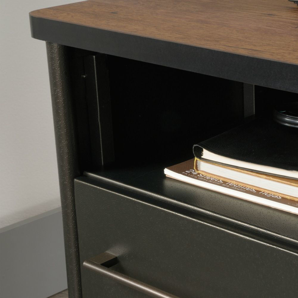 Boulevard Cafe Executive Desk - Shelf Detail