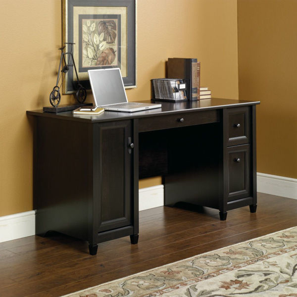 Edge Water Computer Desk - Black
