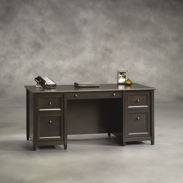 Edge Water Executive Desk - Black