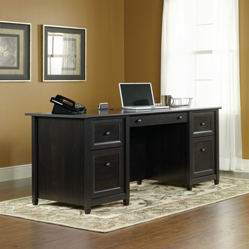 Picture of Edge Water Executive Desk - Black