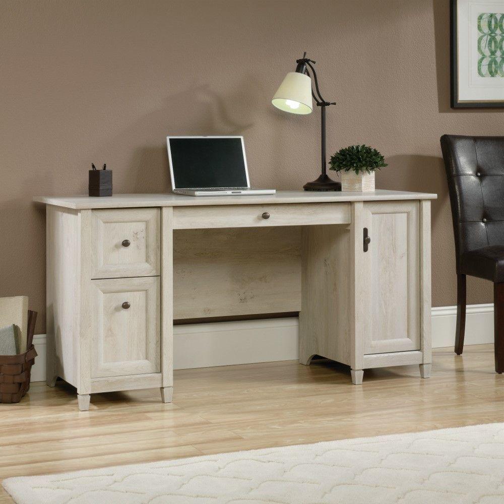 Edge Water Computer Desk - Chestnut