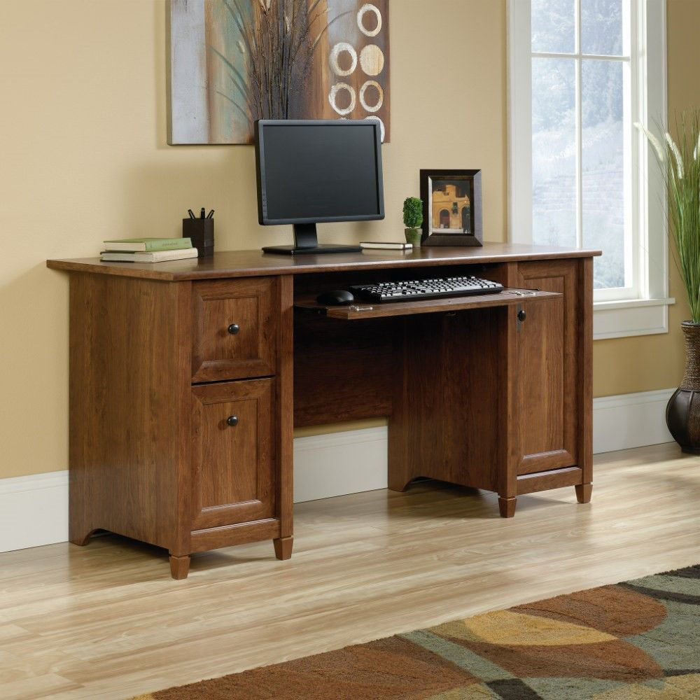 Picture of Edge Water Computer Desk - Cherry