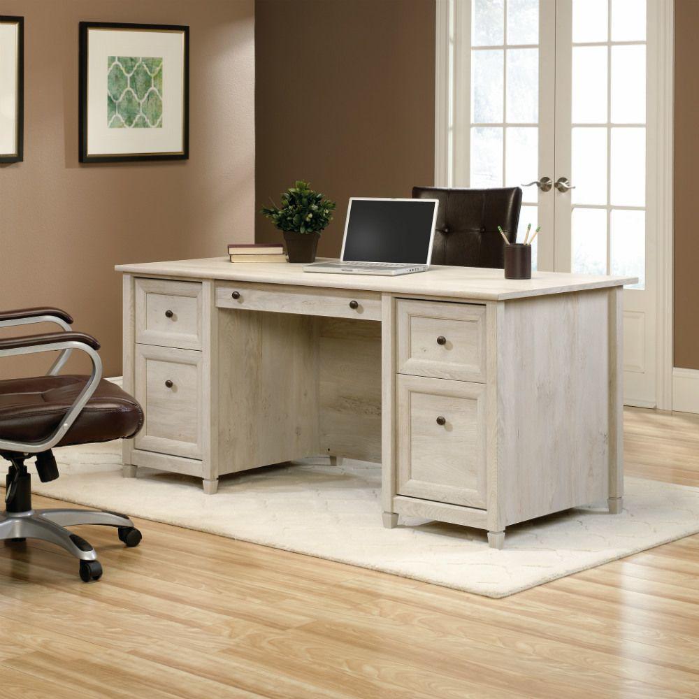 Edge Water Executive Desk - Chestnut