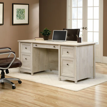 Edge Water Executive Desk - Chestnut