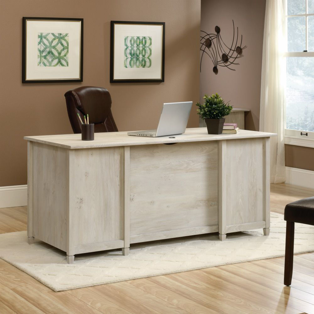 Picture of Edge Water Executive Desk - Chalked Chestnut